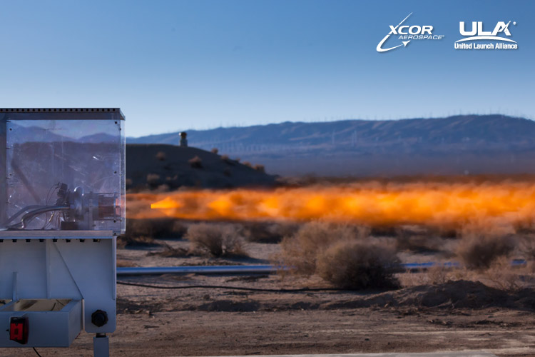 The XCOR XR-5H25 engine was hot fired for the first time at the XCOR test site  located on the Mojave Air & Space Port in Mojave, California (photo: Mike Massee / XCOR)