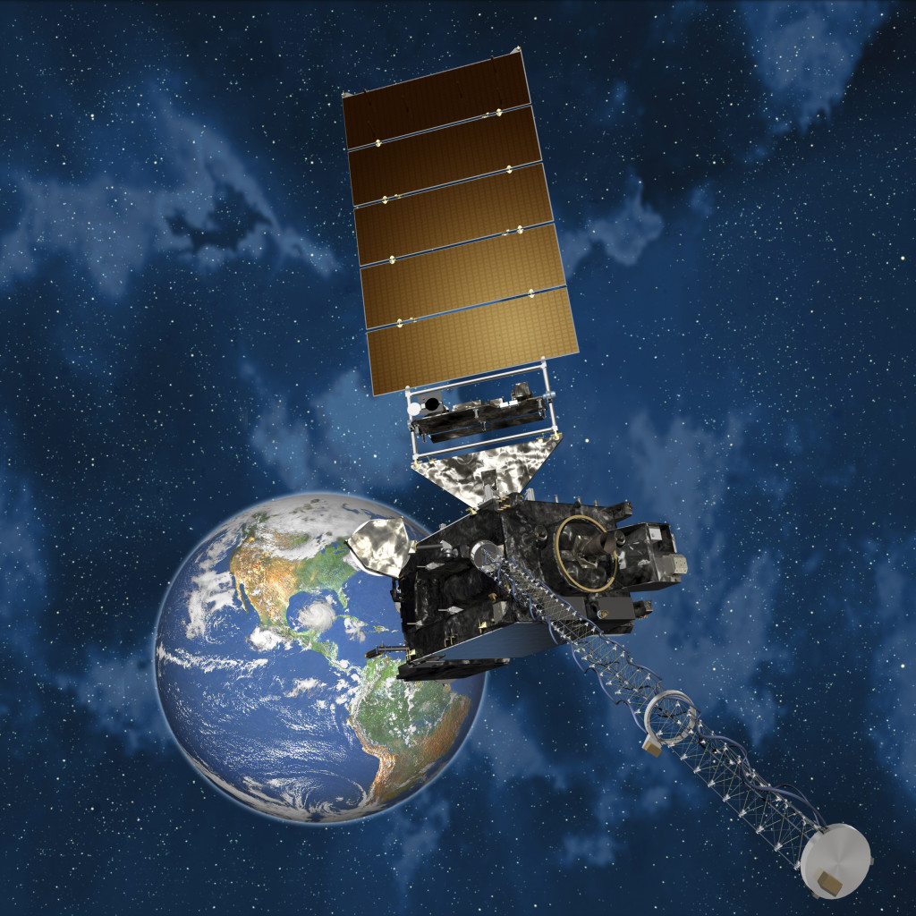 GOES-R. Image Credit: Lockheed Martin