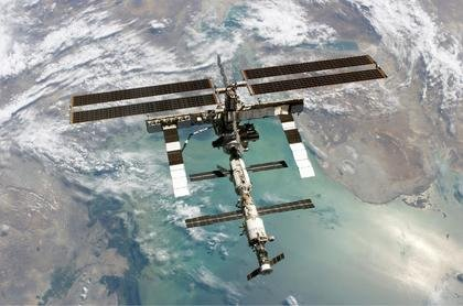 The International Space Station. Image Credit: CU-Boulder