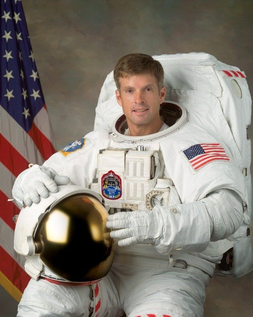 Colorado Astronaut Steve Swanson. Image Source: NASA/CU-Boulder