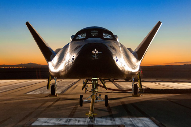 Sierra Nevada's Dream Chaser spacecraft. Image Source: NASA