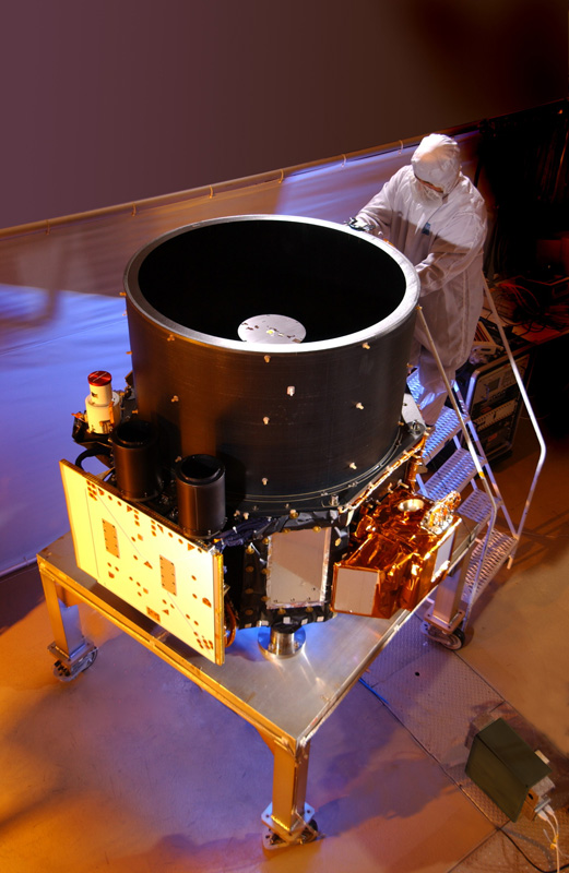Ball Aerospace-built CloudSat Spacecraft and CALIPSO Instrument Celebrate Eight Years on-orbit. Image Source: Ball Aerospace