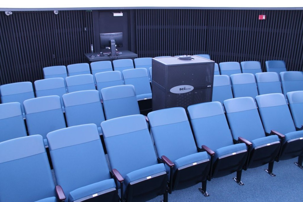 The planetarium theater at Zacheis. Image Source: Zacheis Planetarium