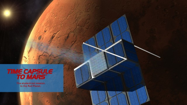 Image Source: Time Capsule to Mars