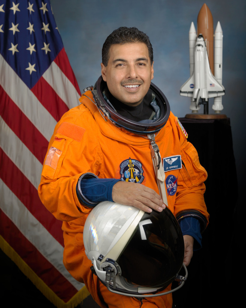 Astronaut Jose Hernandez joins SpaceUnited's Board of Directors. Image Source: NASA/SpaceUnited