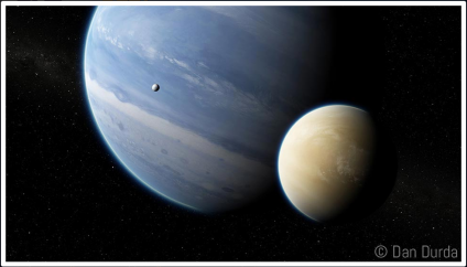 The public is invited to name thousands of exoplanets. Image Credit: Uwingu/Dan Durda