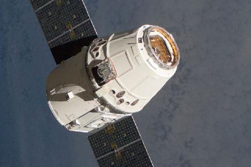 SpaceX Dragon. Image Source: SpaceUnited/SpaceX