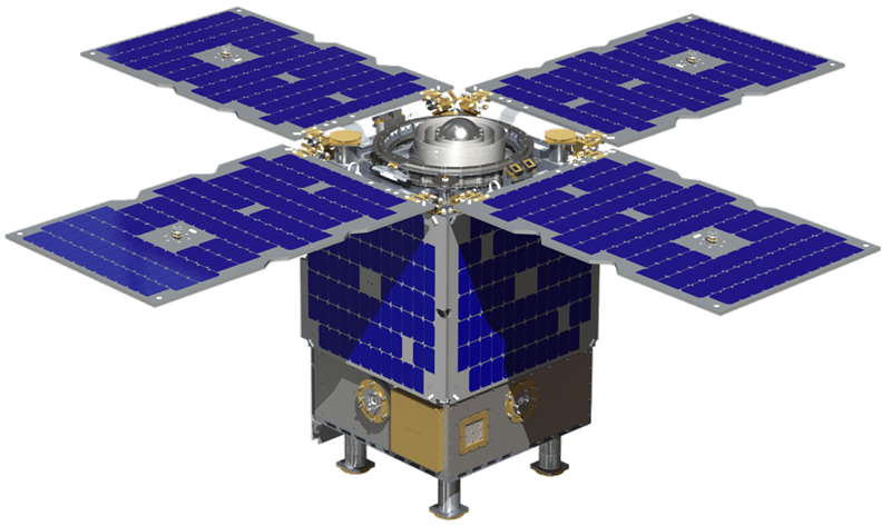 CAD model of Surrey's Orbital Test Bed. Image Source: Surrey Satellite US