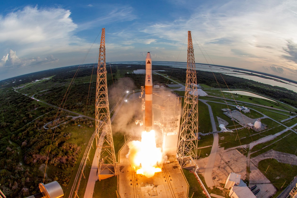 A United Launch Alliance (ULA) Delta IV rocket successfully launched the AFSPC-4 mission for the U.S. Air Force. Image Source: United Launch Alliance (ULA)