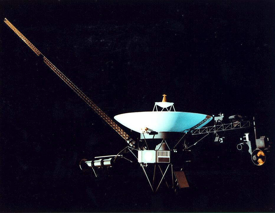 Rechristened the Voyager Interstellar Mission (VIM) by NASA in 1989 after its encounter with Neptune, Voyager 2 continues operations, taking measurements of the interplanetary magnetic field, plasma, and charged particle environment while searching for the heliopause. Image Source: NASA/GSFC