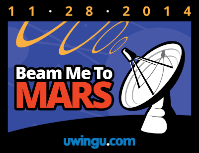 Uwingu launches the Beam Me to Mars Project. Image Source: Uwingu