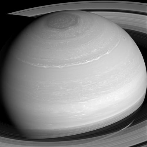 Saturn's many cloud patterns, swept along by high-speed winds, Image Credit: NASA/JPL-Caltech/Space Science Institute