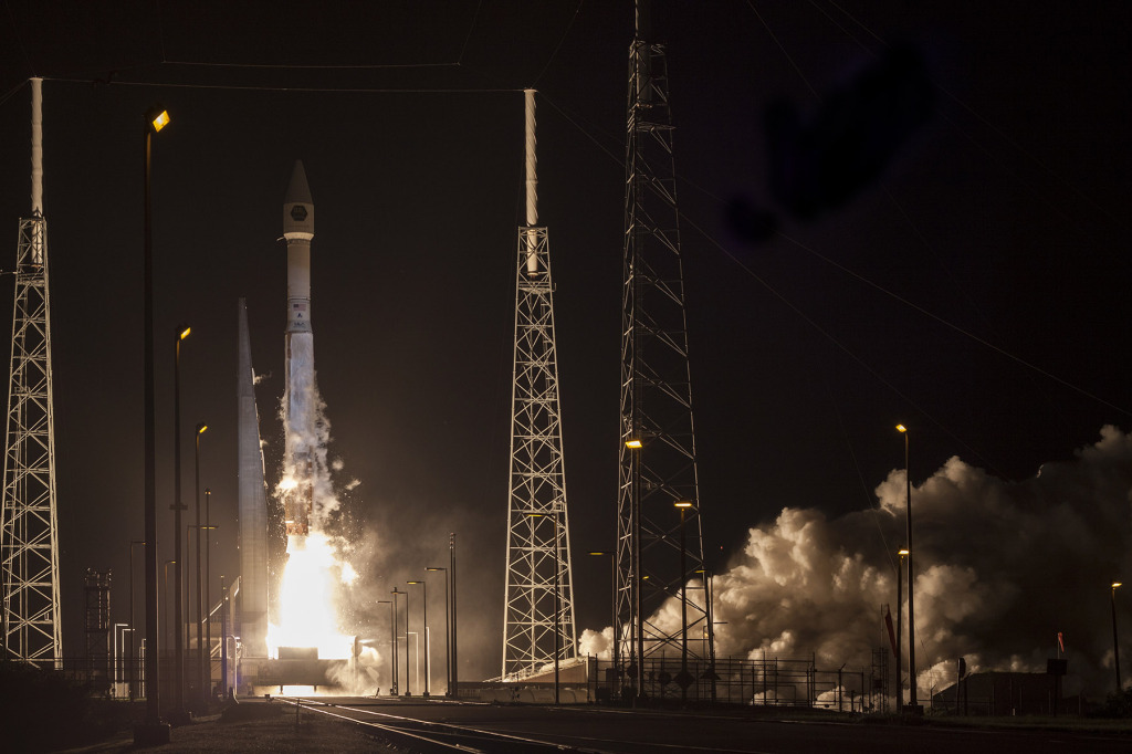 A United Launch Alliance (ULA) Atlas V rocket carrying the CLIO mission for Lockheed Martin Space Systems Company. Image Credit: United Launch Alliance