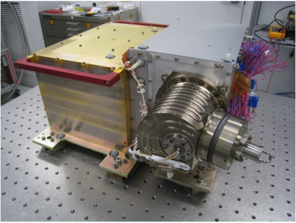 Neutral Gas and Ion Mass Spectrometer. Image Credit: NASA/Goddard Space Flight Center