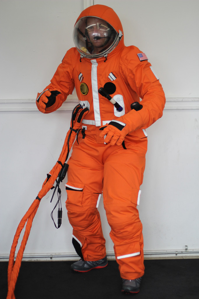 The Final Frontier Design's 3G Spacesuit. Image Credit: Final Frontier Design