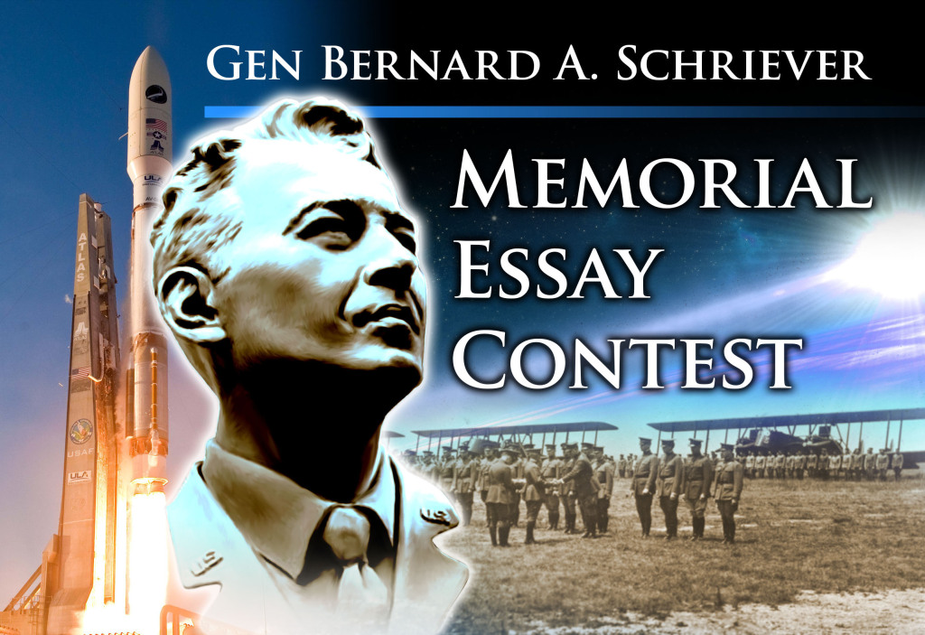 The Air Force Space Command Gen. Bernard A. Schriever Memorial Essay Contest is conducted annually to stimulate thought, discussion and debate on matters relating to how the Air Force and AFSPC provide space and cyberspace capabilities for the joint force and the nation. Image Credit: U.S. Air Force