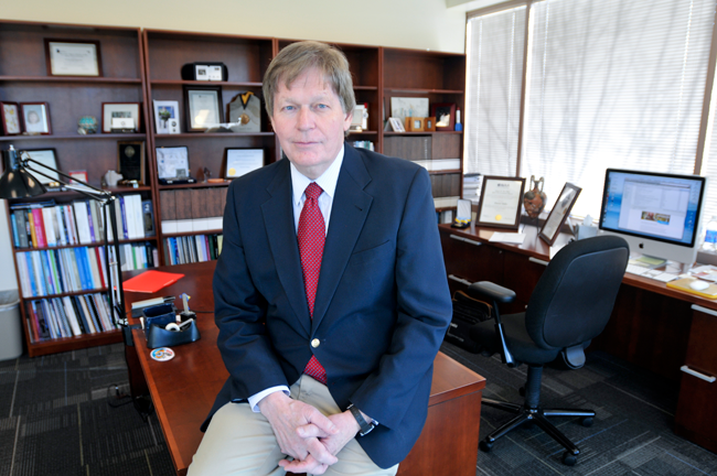 LASP Director Dan Baker has been appointed a 2014 University of Colorado Distinguished Professor. Image Credit: Courtesy Patrick Campbell/CU-Boulder