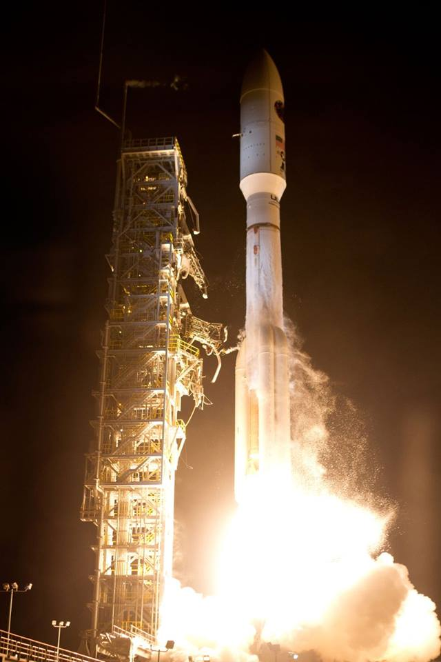 United Launch Alliance Atlas V rocket carrying a payload for the National Reconnaissance Office lifted off from Space Launch Complex-3 on Dec. 12 at 7:19 p.m. PST. Designated NROL-35, the mission is in support of national defense. Image Credit: United Launch Alliance