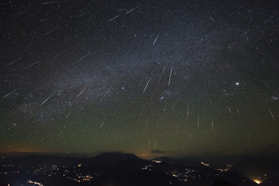 Geminid Meteor Shower. Image Credit: NASA/Jeff Dai