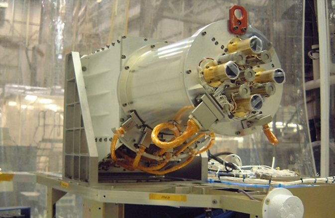 DSCOVR Mission's NISTAR: NIST Advanced Radiometer. Image Credit: NASA/DSCOVR