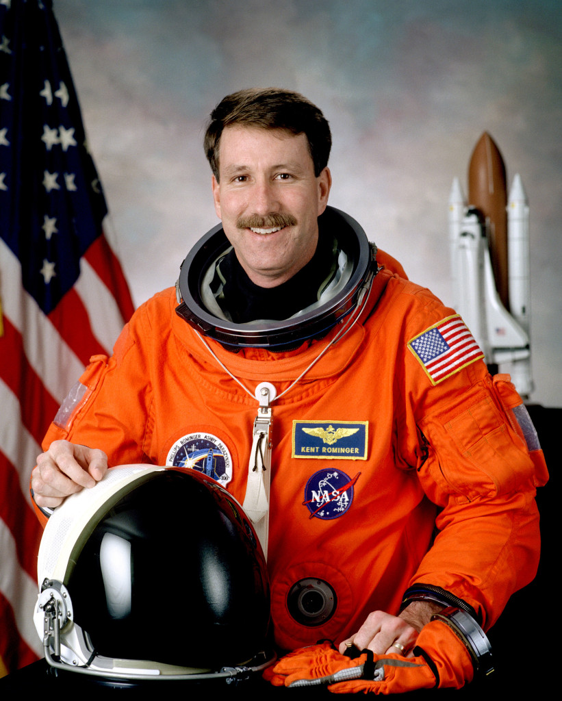 Kent Rominger, 2015 U.S. Astronaut Hall of Fame inductee. Image Credit: NASA