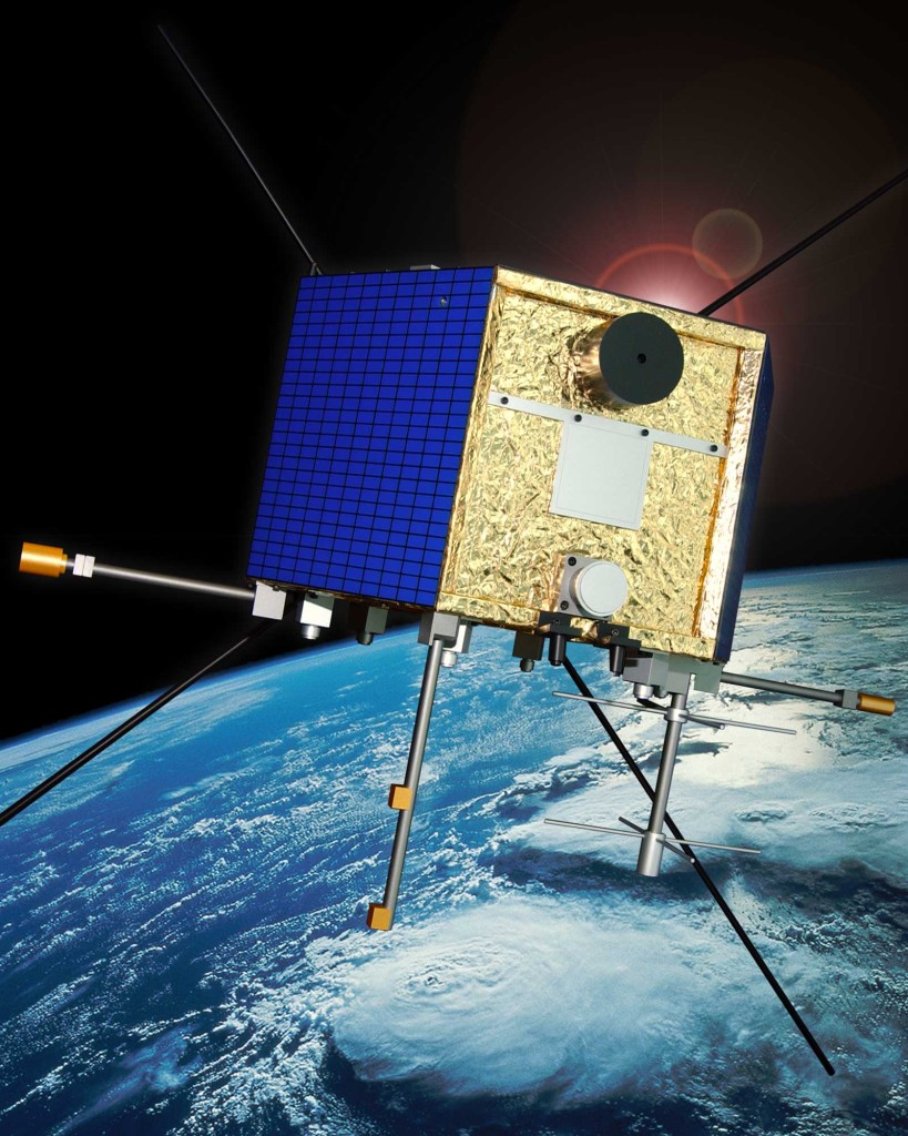 CAScade, Smallsat and IOnospheric Polar Explorer (CASSIOPE) is a made-in-Canada small satellite from the Canadian Space Agency. It is comprised of three working elements that use the first multi-purpose small satellite platform from the Canadian Small Satellite Bus Program. Image Credit: Canadian Space Agency