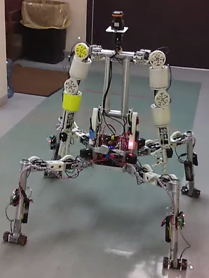 Team Grit's robot, Cog-Burn, will be one of 25 robots developed to provide assistance to humans in a disaster. Image Credit: Team Grit