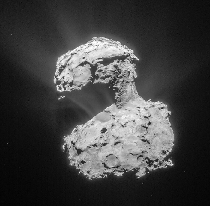 Comet on March 14, 2015. Image Credit: ESA/Rosetta/NAVCAM