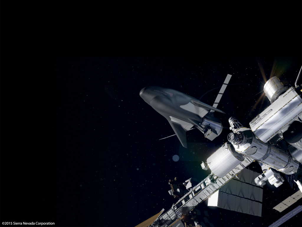 Sierra Nevada Corporation's Uncrewed Dream Chaser Docks to the ISS. Image Credit: Sierra Nevada Corp.
