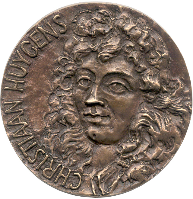Christiaan Huygens Medal. Image Credit: European Geosciences Union