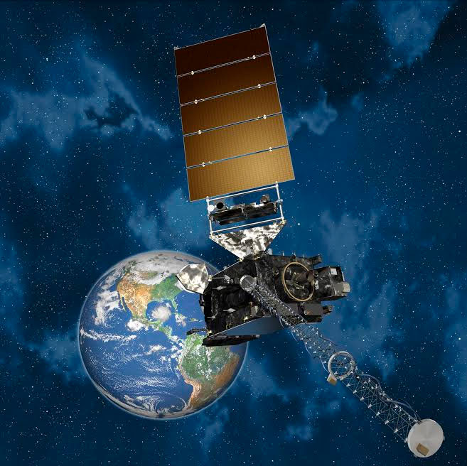 Artist Rendition of GOES-R. Image Credit: Lockeed Martin