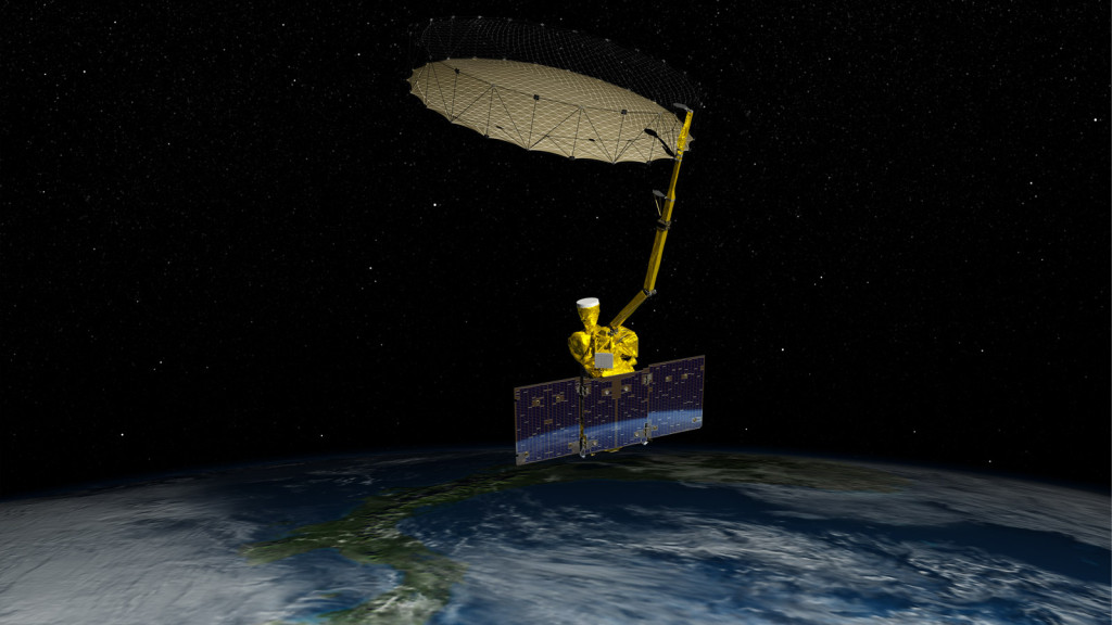 NASA's Soil Moisture Active Passive (SMAP) mission will produce high-resolution global maps of soil moisture to track water availability around our planet and guide policy decisions. Image Credit: NASA/JPL-Caltech