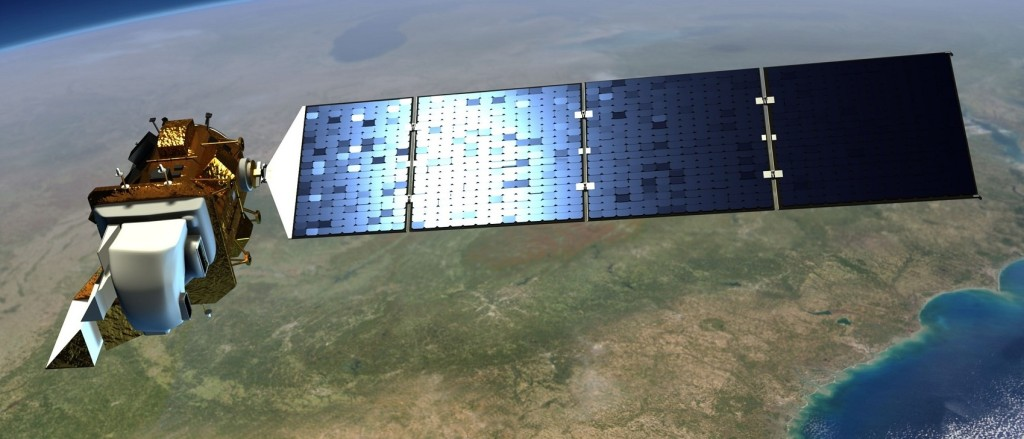 NASA and the U.S. Geological Survey have started work on Landsat 9, an upgraded rebuild of the Landsat 8 spacecraft launched in 2013, to extend the Landsat program's decades-long observations of Earth's land cover. Image Credit: NASA