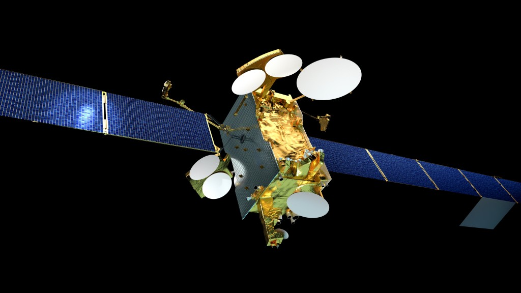 The GOLD instrument will ride onboard the SES GS commercial communications satellite, SES-14, shown above. Image Credit: Airbus Defense and Space SAS, 2015