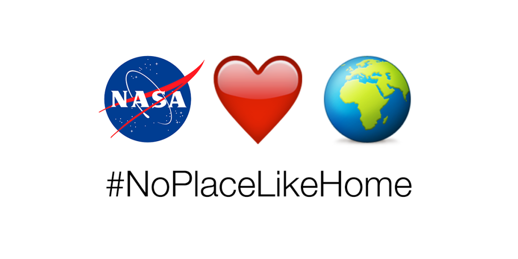 There are (so far) 1,800 known planets beyond our solar system, but among all of them, there's no place like Earth. This Earth Day, April 22, NASA is asking you to share pictures and video of your favorite places on Earth using social media – and tag them #NoPlaceLikeHome.