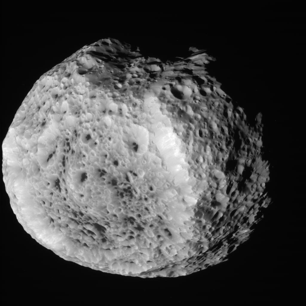 Hyperion. Image Credit: NASA/JPL/Space Science Institute