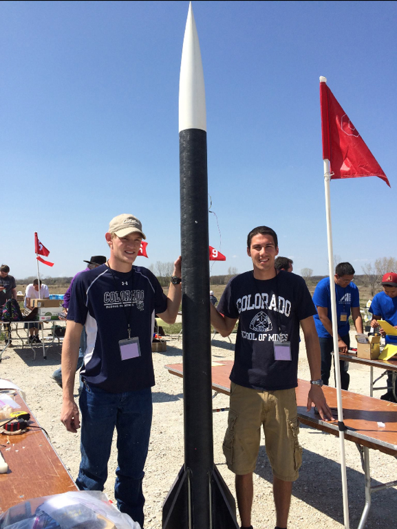 AISES members Stephen Mulligan and Keegan Favill. Image Credit: Colorado School of Mines