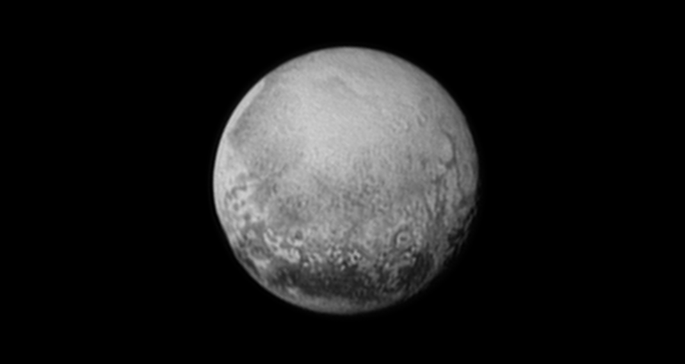 Pluto as seen from New Horizons on July 11, 2015. Image Credit: NASA/JHUAPL/SWRI