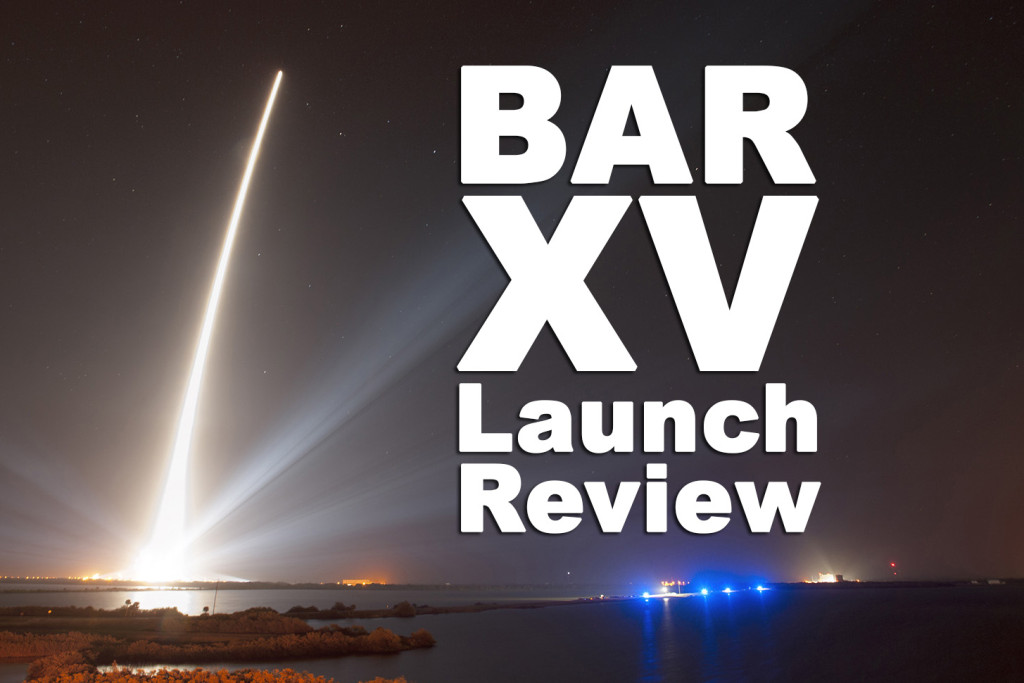 Air Force Space Command announces Broad Area Review XV, which examined the new entrant launch certification process.  Image Credit: USAF