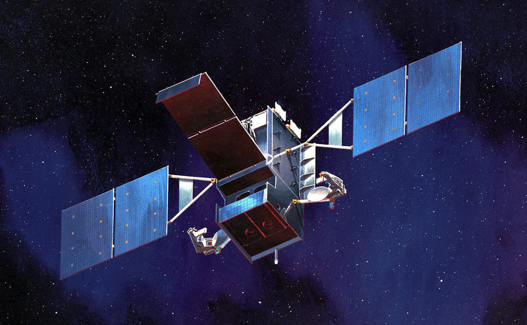 Space Based Infrared System (SBIRS) satellite. Image Credit: U.S. Air Force