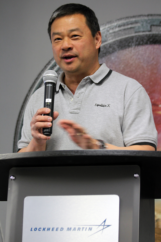 Dr. Leroy Chiao. Image Credit: Colorado Space News