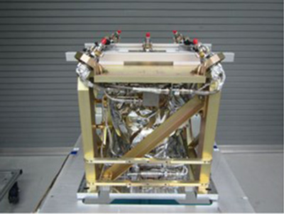 A green propellant propulsion subsystem was recently delivered to Ball Aerospace for integration into the Green Propellant Infusion Mission spacecraft. The subsystem will be one of three experimental payloads on the spacecraft. Image Credit: Ball Aerospace