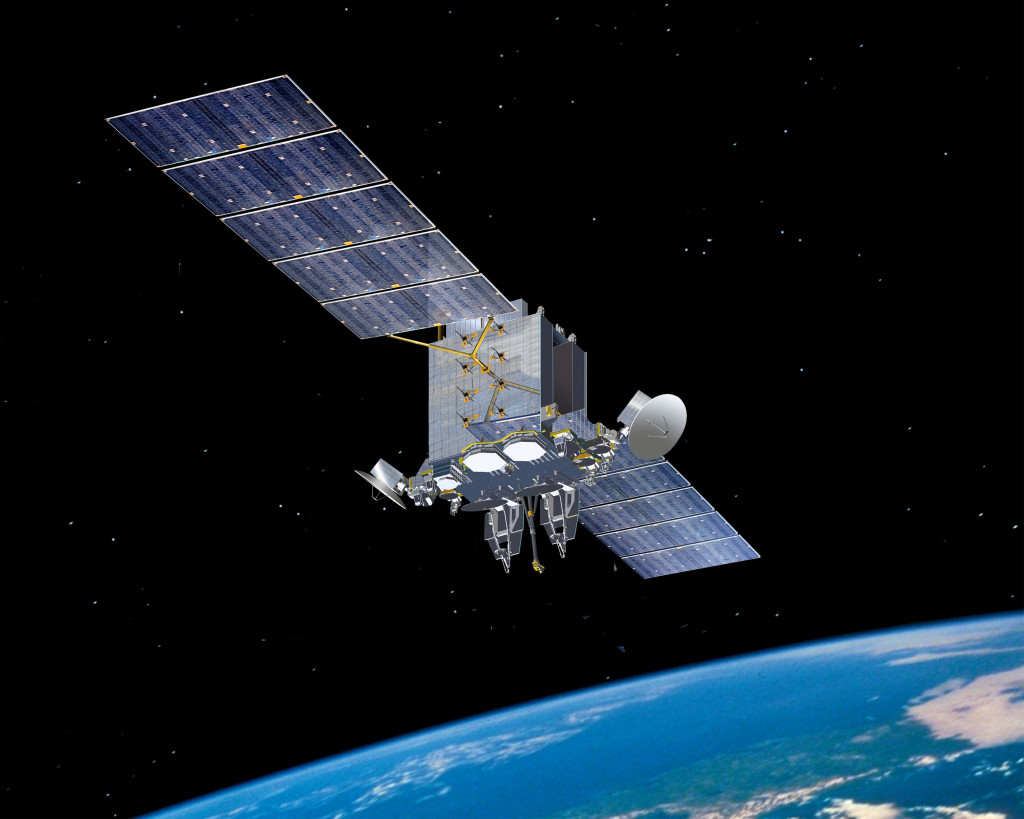 Advanced Extremely High Frequency satellite. Image Credit: Lockheed Martin