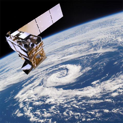 Providing data to support weather forecasting and monitoring Earth's climate requires many types of satellites! The NOAA/NASA Suomi NPP satellite and the future JPSS constellation will work in tandem with GOES-R to provide vital information in the face of severe weather events. Image Credit: NOAA