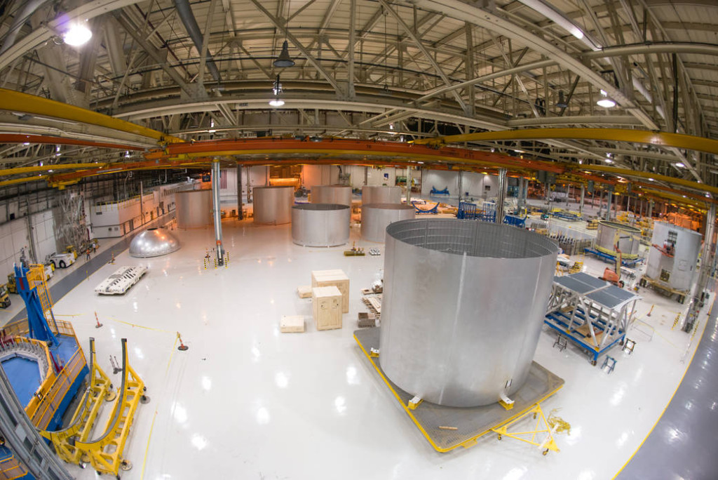 NASA's Michoud Assembly Facility in New Orleans. Image Credit: NASA/Michoud/Steven Seipel