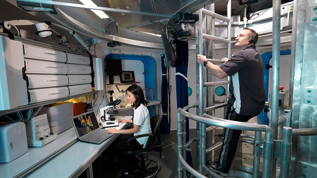 The Human Exploration Research Analog (HERA) at NASA's Johnson Space Center. Image Credit: NASA