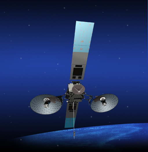 Tracking Data Relay Satellite (TDRS). Image Credit: NASA