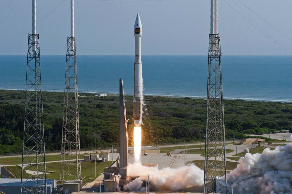 An Atlas V carries a payload into space for the National Reconnaissance Office. Image Credit: United Launch Alliance