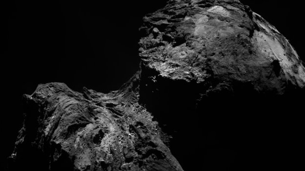 Comet on  December 10, 2015 from OSIRIS narrow-angle camera. Image Credit: ESA/Rosetta/MPS for OSIRIS Team