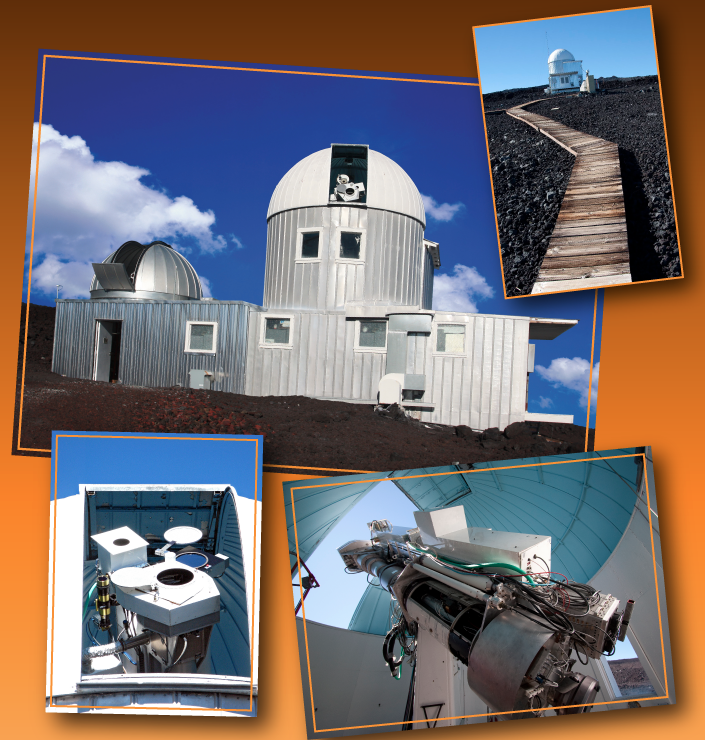 Views of the Mauna Loa Solar Observatory. Image Credit: HAO
